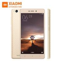 al por mayor 2gb xiaomi-Original Xiaomi Redmi 3 Teléfono móvil Snapdragon 616 Octa núcleo 4100mAh 5.0