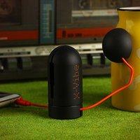 battery packaging design - New Design X Vibe Resonance Music Speaker Plastic Mini Loud Speaker mah Li Battery USB Plug With Package
