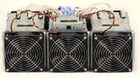 Wholesale HOT New AntMiner S5 GH s Asic Miner Bitcon Miner nm BTC Mining SHA256 Power Consumption3436W DHL shipping DHL free shippin