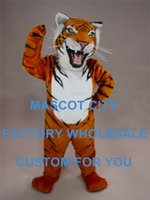 bengal tiger animal - Fierce Bengal Tiger Mascot Costume Hot Sale Adult Size Wild Animal Theme Mascotte Mascota Outfit Suit Fancy Dress Cosply SW1104