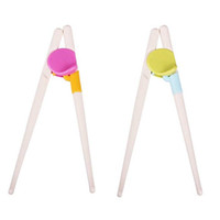 baby chopsticks - 200 pairs New Style Kids Children Early Learning Training Designed Chopsticks Baby Enlightenment Chopsticks ZA0850