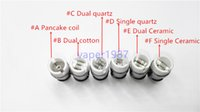 base fit - Coil Head Was fit Globe Glass Tank Ceramic Replacement Coils with Metal Base Dual Quartz Rod in Stock