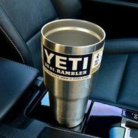 stainless steel dishwasher - Sweat Free design YETI stainless steel vacuum insulation cups beer mug wholeprice vacuum vehicle dishwasher safe DHL