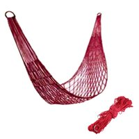 Wholesale Nylon Parachute Outdoor net bed Portable Camping Hammock quality first