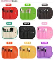 beauty face makeup - 7pcs kits Makeup Brushes Professional Set Cosmetics Brand Makeup Brush Tools Foundation Brush For Face Make Up Beauty Essentials EMS