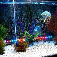 Wholesale High Quality Inch Aquarium Decorative Glowing Simulation Artificial Jellyfish Glowing Fish Tank Landscape