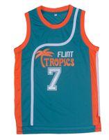 Wholesale Cheap Throwback Basketball Jerseys Coffee Black Flint Tropics Jerseys Basketball Jersey usa Basketball Throwback Jerseys Stitched Jerseys