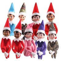 Wholesale 2016 New Style Christmas Tradition Elf Toys On The Shelf Elves Xmas Dolls For Kids Holiday a Christmas Dolls Gifts