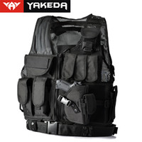 armor equipment - Hot Police or Military Tactical Vest Wargame Tactical Vest Body Armor CS Outdoor Products Equipment with Colors