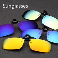 big clip frames - New Fashionable Polarizer clip pieces spectacle frame dedication sunglasses Big clamp night vision goggles Sunglasses B0574