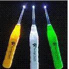 Wholesale Brand New Creative LED Flashlight EarPick Ear Wax Remover Ear Cleaner Curette For Adults amp Children WTZ397