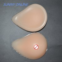 Wholesale medical breast g spiral thickening pad silicone breast prosthesis false chest breast For Mastectomy