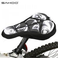 SAHOO Sillín de bicicleta nuevo ciclismo cómodo cojín absorbente Soft Pad proveedor de piezas de bicicleta sillín de bicicleta cubierta asiento ciciclo