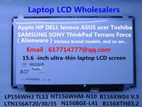 asus laptop led - LP156WH3 B156XW04 V LP156WH3 B156XW03 N156BGE L41 N156B6 L0D LTN156AT20 LTN156AT35 NEW LED Display Laptop Screen