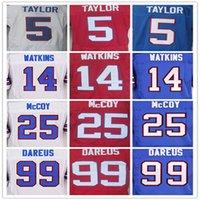 best thomas - Best quality jersey Men s Tyrod Taylor Sammy Watkins Marcell Dareus LeSean McCoy Thurman Thomas elite jerseys