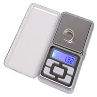Wholesale 100pcs mini x LCD electronic scales Gram Digital Pocket Scale Jewelry Scale kitchen scale g