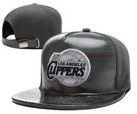 basketball clippers - New Los Angeles Adjustable Clippers Snapback Cap Men Women Basketball Hip Pop Baseball caps Outdoor sport hat