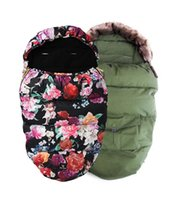 Wholesale elodie details sleeping bags for stroller with fake fur collar