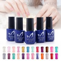 best quality nail polish - 2016 MONASI China Factory UV Gel Nails New fashion best quality gel nail polish