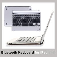 apple keyboard support - Wireless Mini Bluetooth Keyboard for Support Apple IOS System Phone Tablet PC Slim Streamline Design Keyboard with Retail Package