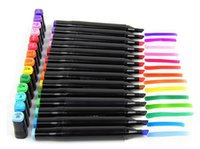Wholesale 48 colors Art mark pen Alcohol Marker pen soluble pen cartoon graffiti art sketch markers for designers