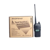Wholesale Freeship Baofeng UV Walkie Talkie Pofung UV L uv82 W Radio amateur CH VHF UHF VOX Dual Band Way Radio Eliminator