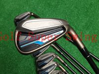 Wholesale Brand New Golf Clubs Irons SpeedBlade Golf Irons Set PAS Dynamic Gold Steel Shafts DHL