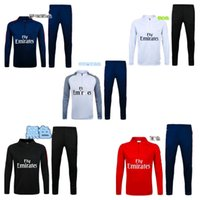 best fleece vest - 16 Training Wear Soccer tracksuits Best quality survetement football training suit sweat soccer jogging football