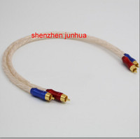 audio interconnect cables - Hi End silver plated HiFi Audio cable RCA interconnect cable M pair good quality