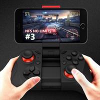 Precio de Pc joystick-Coolzu Doble mecedora de control de juegos de Smartphone Wireless Bluetooth Phone Gamepad Joystick para Android Phone / Pad / Android Tablet PC TV