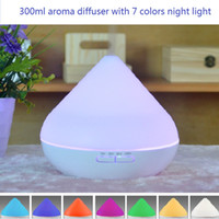 aromatherapy oil blends - Essential Oil Blends color changing leds rainbow colorful ml Ultrasonic Aroma Diffuser