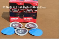 Wholesale High quality TECH tire repair film cold patch on the mm round tubeless tire repair patch patch auto patch box