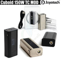 Wholesale Joyetech Cuboid W TC Box Mod VW Dual Battery for thread Atomizer V3 Upgradable Firmware Support SS316 Mode