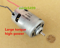 Wholesale High torque and high speed DC12V V spindle motor