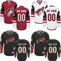arizona mix - Customized Men s Arizona Coyotes Custom Any Name Any Number Ice Hockey Jersey Authentic Jersey Stitched Accept Mix Ord size S XL
