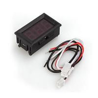 As Description ampere panel digital - Red LED Digital DC Ammeter AMP Current Ampere Panel Meter Tester Gauge