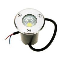 Wholesale 3W V DC IP67 COB LED chip LED RGB Underground Light Lamp Waterproof Shockproof High power Tempered Glass