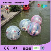 walk on water ball - Factory Price m Diameter Inflatable Water Walking Ball Human Hamster Zorb Ball On Water Water Rolling Ball