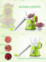 Wholesale Manual meat grinder machine household sausage machine enema machine Mincers large meat grinder