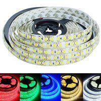 Wholesale Super Brightness Waterproof LED Strip Light M LEDs SMD Warm White Pure White Red Green Blue DC12V LED Tape Ribbon Rope Lighting