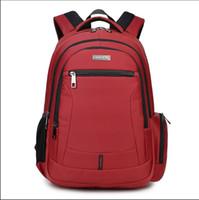 big backpacks for high school - big size red school bags for girls kids bag women backpack waterproof nylon fabric men bagpack high school backpacks for boys