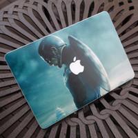 Wholesale Creative personality Vinyl Local Decal Sticker Skin for Apple MacBook Pro Air Retina Captain America Steven quot Steve quot Rogers