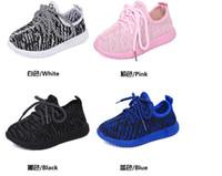 Wholesale Led kids shoes pink white black biue children s shoes