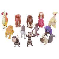 achat en gros de jouets d'âge de glace-12pcs / lot Ice Age 5 Figurine Figurines 5cm PVC Ice Age Figure Doll Doll Anime Brinquedos Jouets pour les enfants