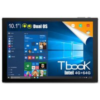 Wholesale 10 Inch Teclast Tbook10 Dual OS Windows10 Android5 Tablet PC Intel Cherry Trail T3 Z8300 GHz GB GB Tablet