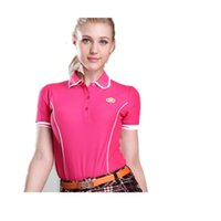 Wholesale PGM genuine golf clothing Ms Slim summer T shirt golf shirt Slim version of the type of high end fashion stretch was thin temperament shipp