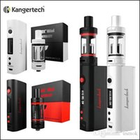 Wholesale 1PC authentic Kangertech Subox Mini Starter Kit with Subtank Mini atomizer KBOX Mini W W battery support ohm coils