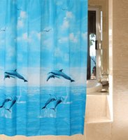 bathroom valances - 180x180cm Shower curtain waterproof bathroom purdah dressing room valance bedroom drapes