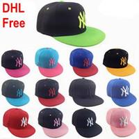 Precio de Sombreros casual para los hombres-31 Yankees color Hip Hop MLB Snapback de las gorras de béisbol MLB NY Sombreros unisex Deportes Nueva York hueso ajustable casquette Mujeres Hombres Casual headware