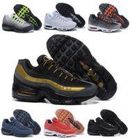 Zapatos corrientes de descuento del amortiguador de aire Max95 Hombres anaranjado retro Maxes 95 OG Deporte Airmaxes 95s Zapatillas Deportivas Corta Botas zapatillas de deporte